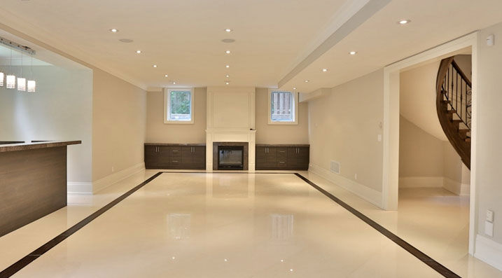 Finished Basement Finishing A, How Much To Finish A Basement In Ontario